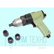 Пневмогайковерт  ИП-3111 реверсивный прямой, max d12 мм