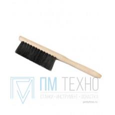 Щетка-сметка 300х22мм (3-х рядная) с деревянной ручкой С40