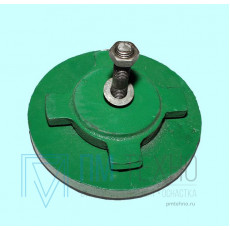 Виброопора регулируемая 0,5т  d 80мм М12х70 (S78-8)