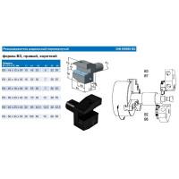 Резцедержатель радиальный В3-40х25х44 правый перевернутый с хвостовиком VDI40-3425 DIN69880